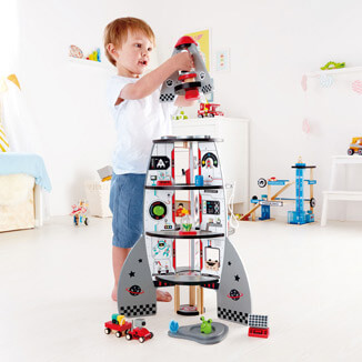 Four Stage Rocket Ship Role Play Toys Hape Toys