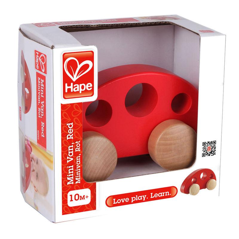 Mini Van Red E0052 Hape Toys
