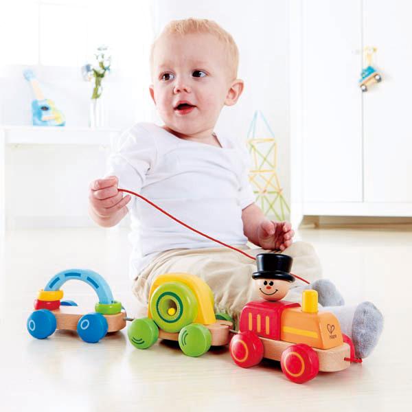 Triple Play Train E0431 Hape Toys
