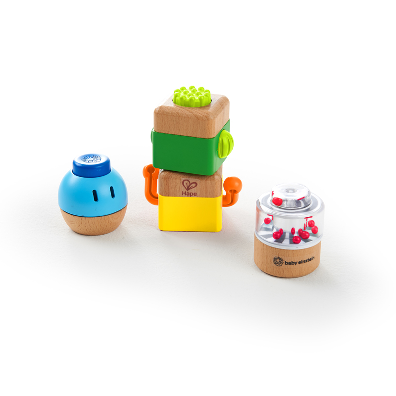 Four Fundamentals™  Wooden Sensory Set