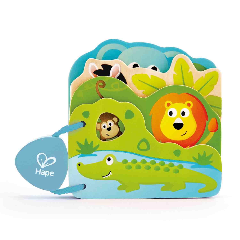 Baby's Wild Animal Book