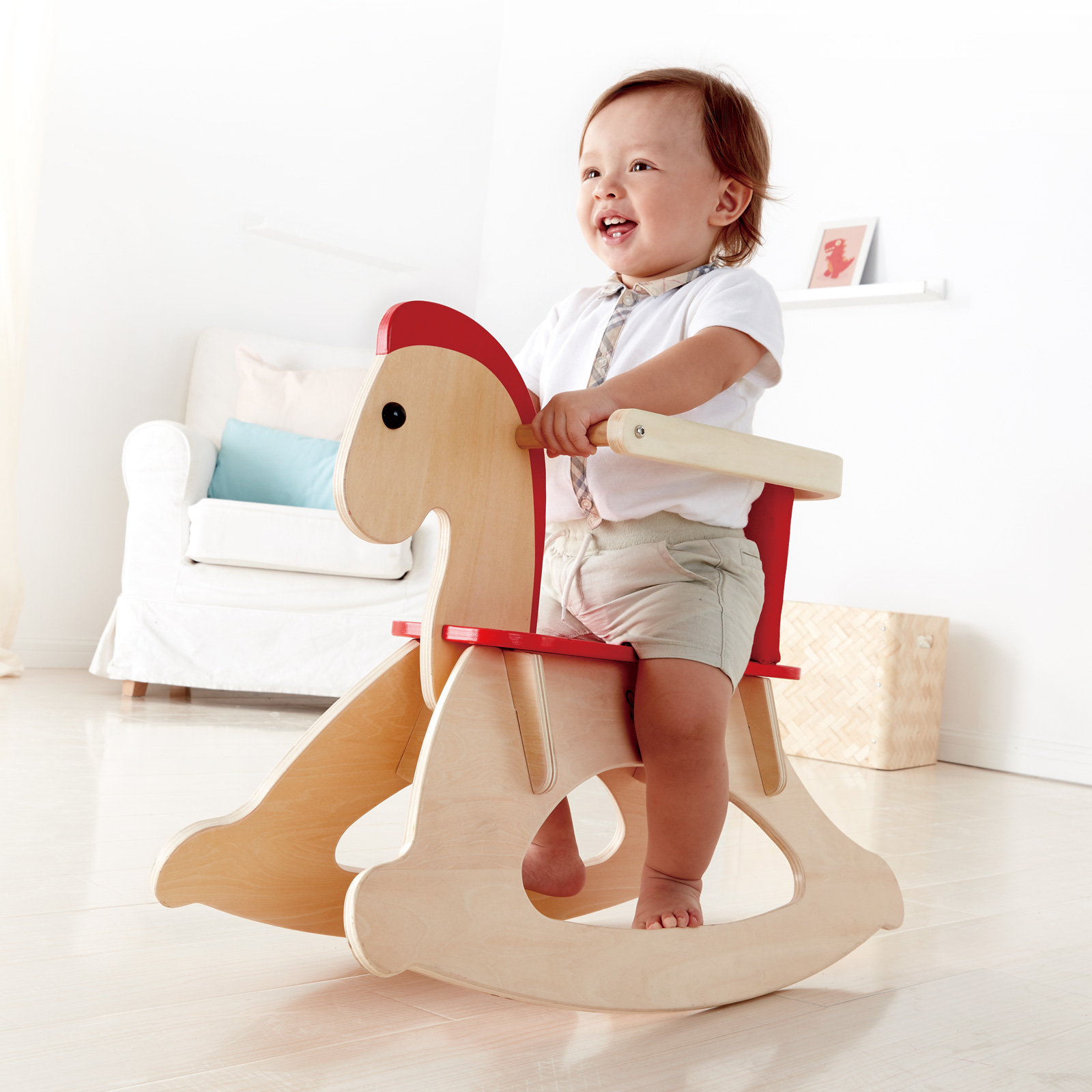 Rock and Ride Rocking Horse E0100