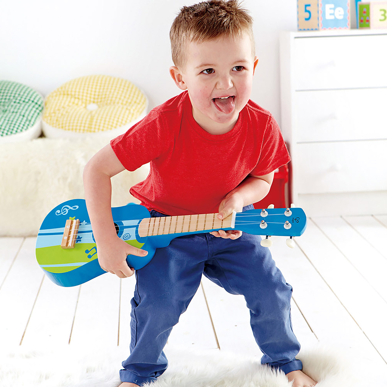 Ukulele Blue E0317 Hape Toys