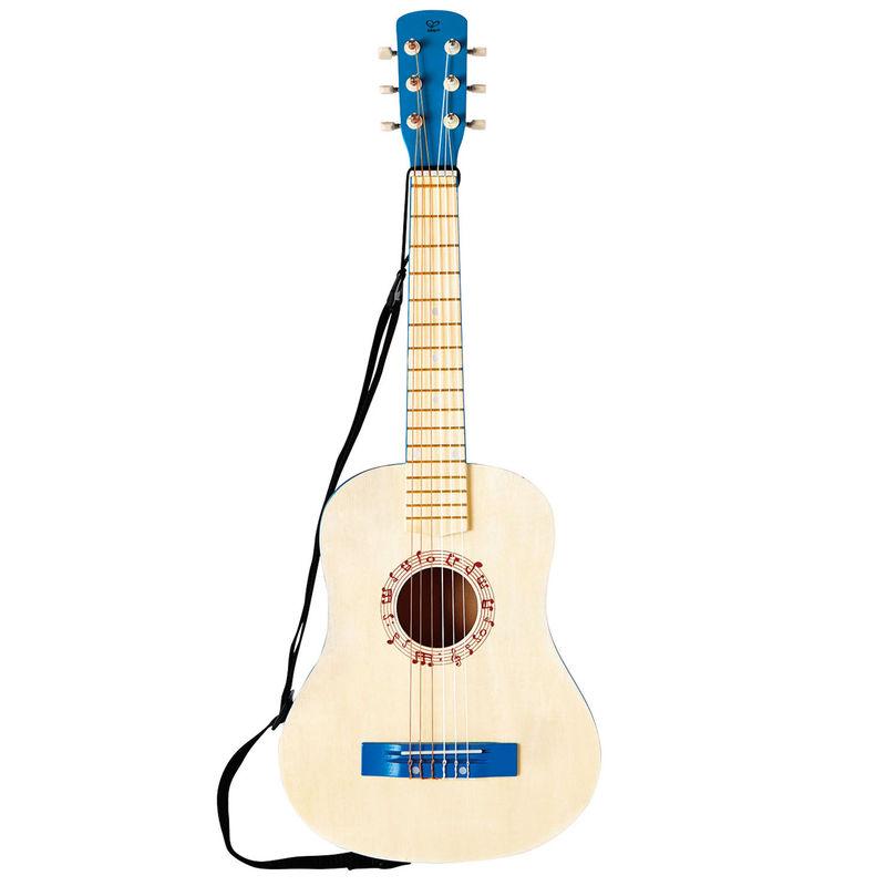 Vibrant Blue Guitar
