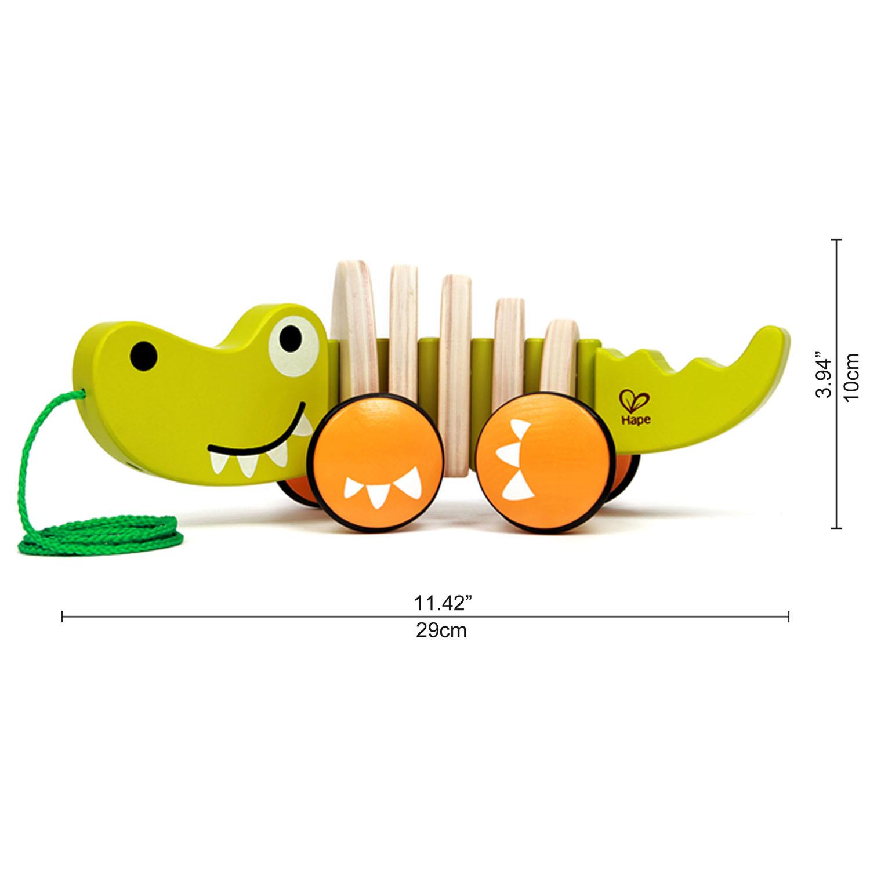 Holzspielzeug Hape Krokodil ?Croc