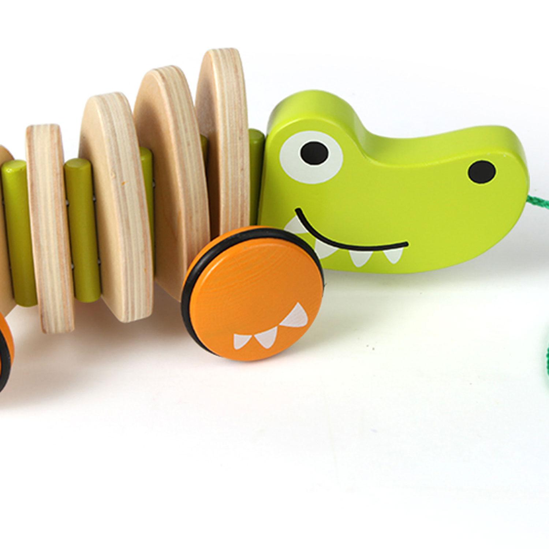Walk A Long Croc E0348 Hape Toys