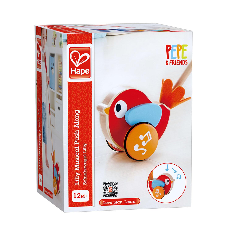 Nachziehtiere Schiebevogel Lilly Spielzeug Hape E0353