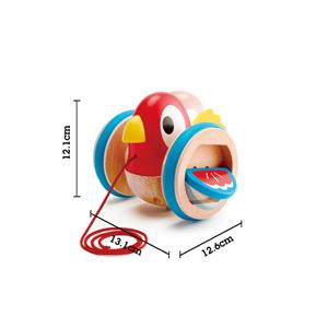 Hape E0360-Oisillon /à Promener E0360 Jouet /À Tirer Violon R/éplique Multicolore