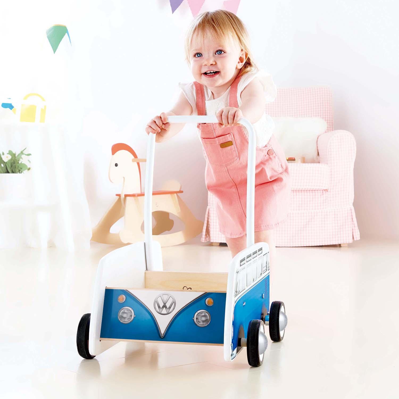 Classical Bus T1 Walker Blue E0381 Hape Toys