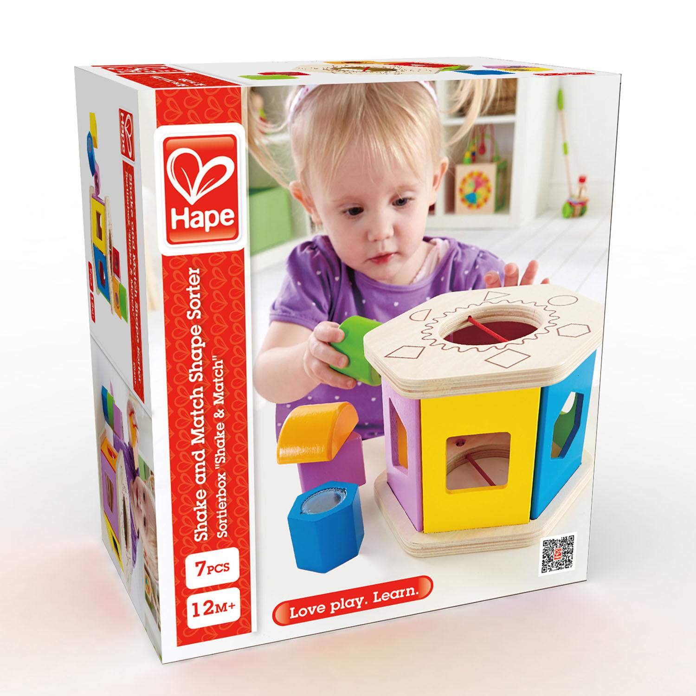 Shake and Match Shape Sorter | E0407 | Hape Toys