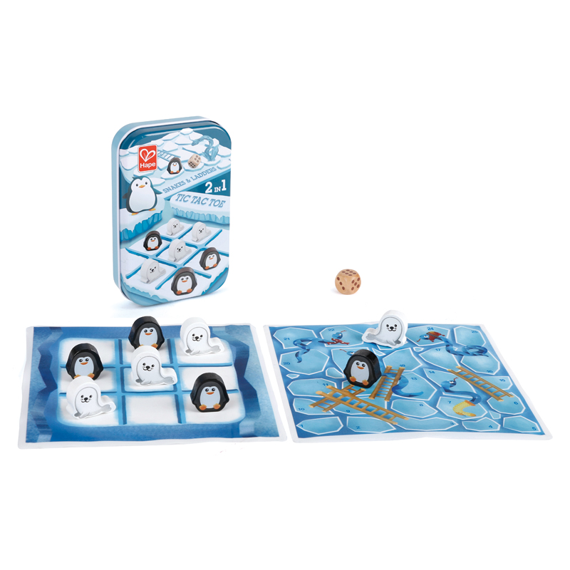 2 in1-Tic Tac Toe/ Snakes & Ladders