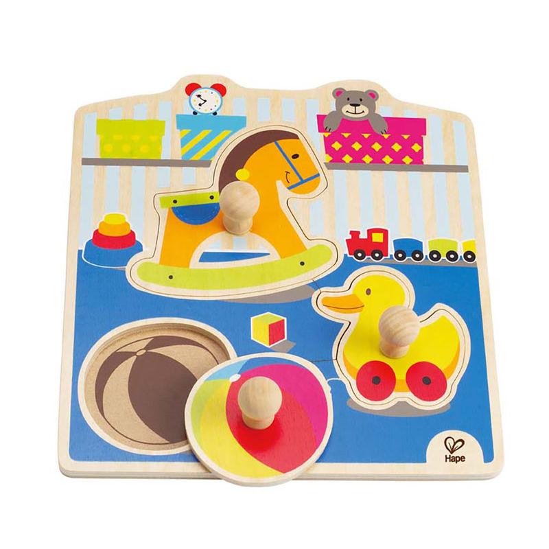 My Toys Knob Puzzle