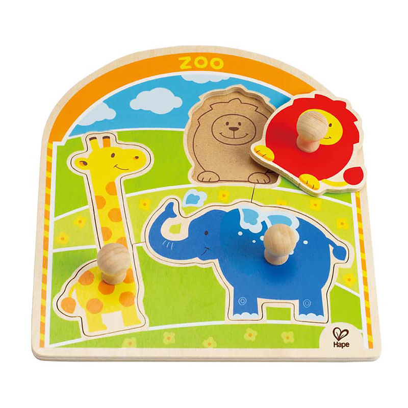 At the Zoo Knob Puzzle