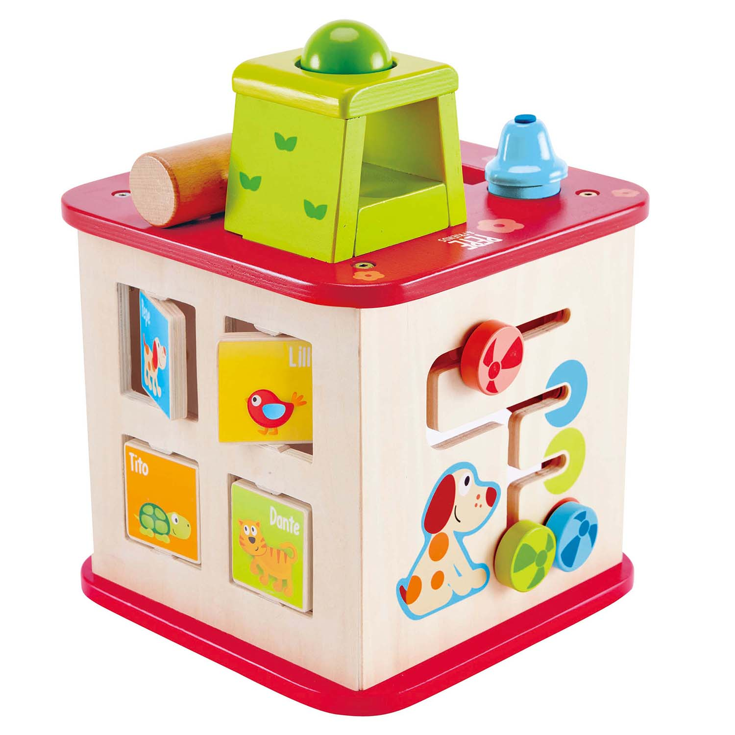 Hape Wooden Toys Educational Toy Dollhouse Wooden Puzzle