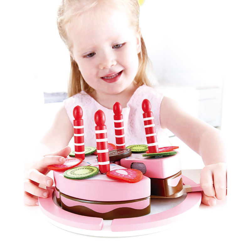 Double Flavored Birthday Cake E3140 Hape Toys