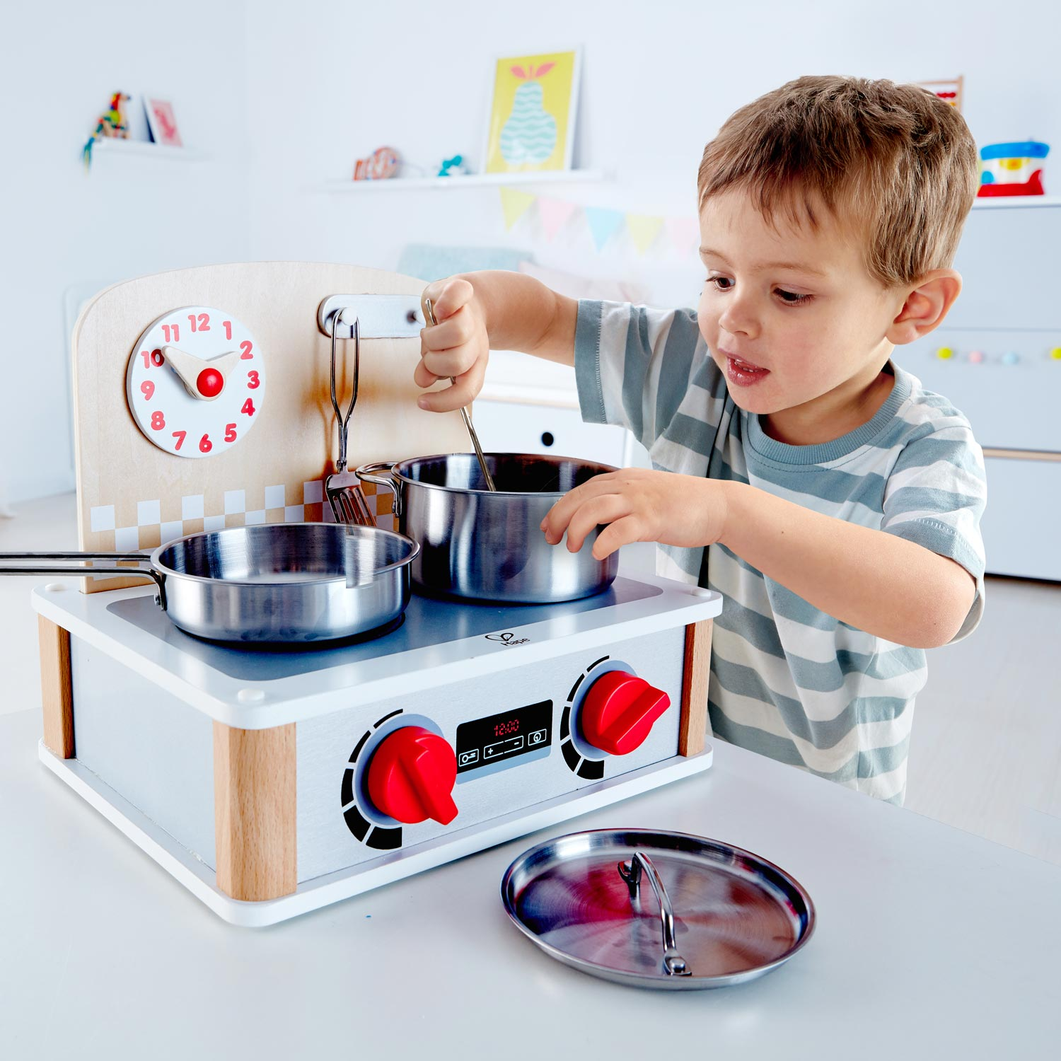 2 In 1 Kitchen Grill Set E3151 Hape Toys