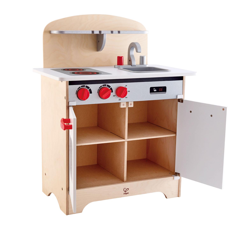 White Gourmet Kitchen E3152 Hape Toys