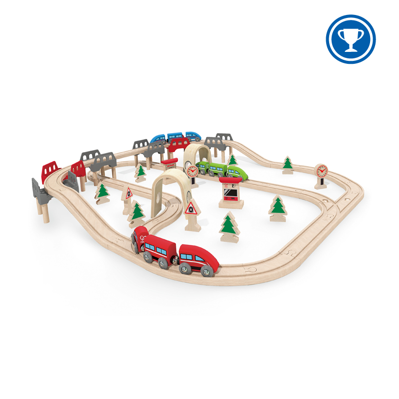 High & Low Railway Set