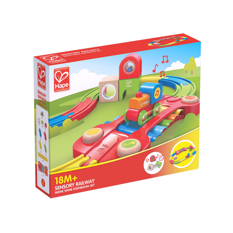 meine sinne eisenbahn-set | e3822 | hape toys