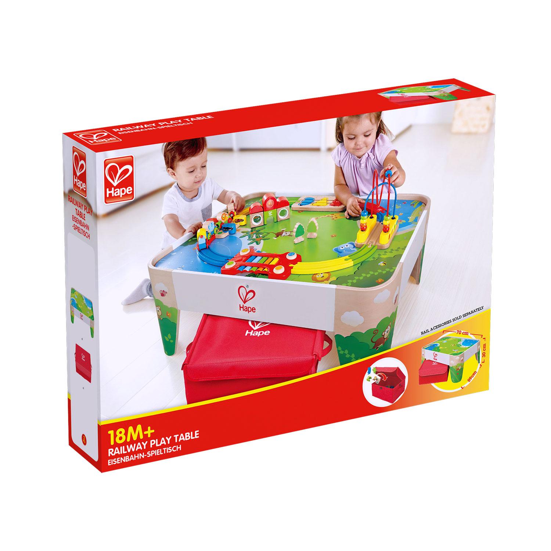 Spieltisch Eisenbahn eisenbahn spieltisch e3823 hape toys