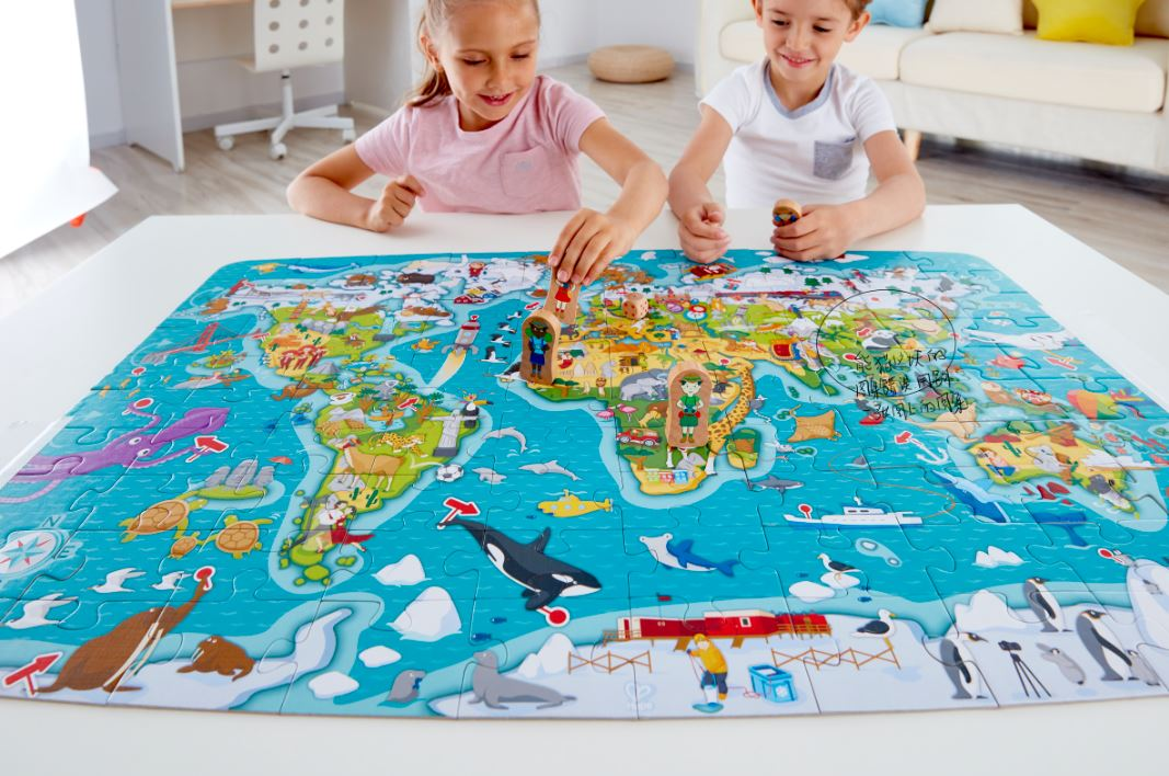 Puzzle Play: An opportunity to learn something new every day!