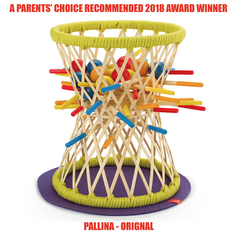 Hape's Bamboo Game Wins 2018 Parents' Choice Award