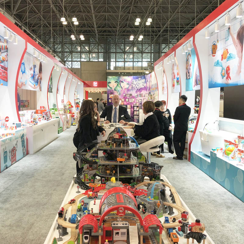 2019 Global Tour — Hape Shines in Three International Toy Fairs