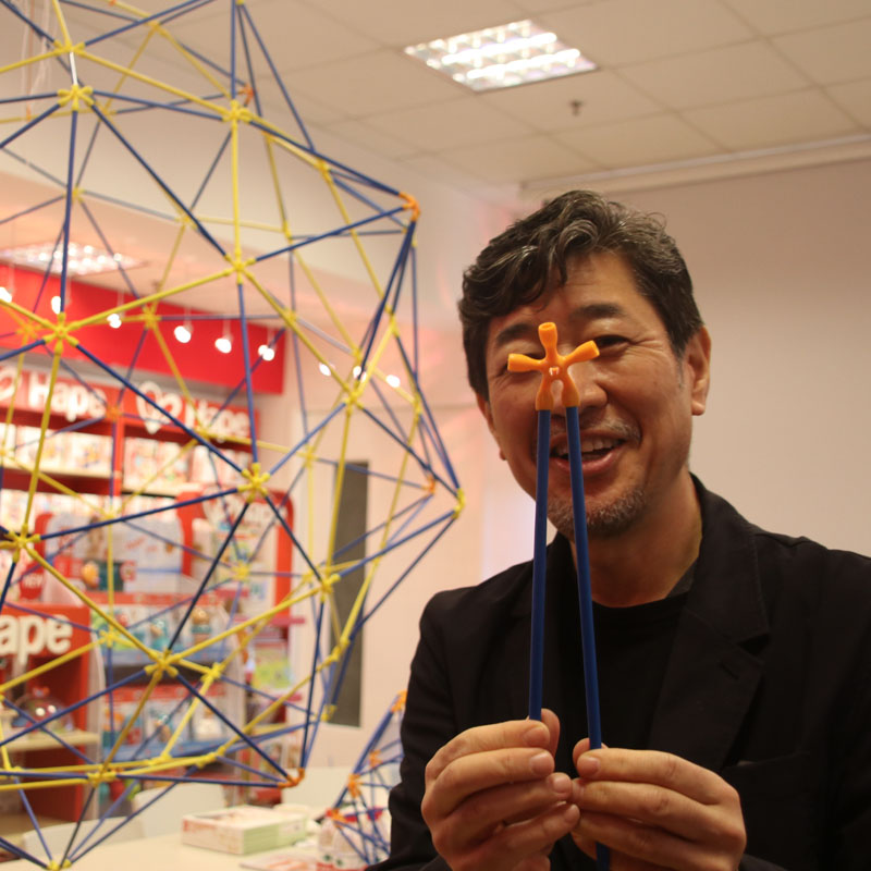 Exploring New Possibilities of Bamboo Toys - 2019 Hape Japan Flexistix Workshop