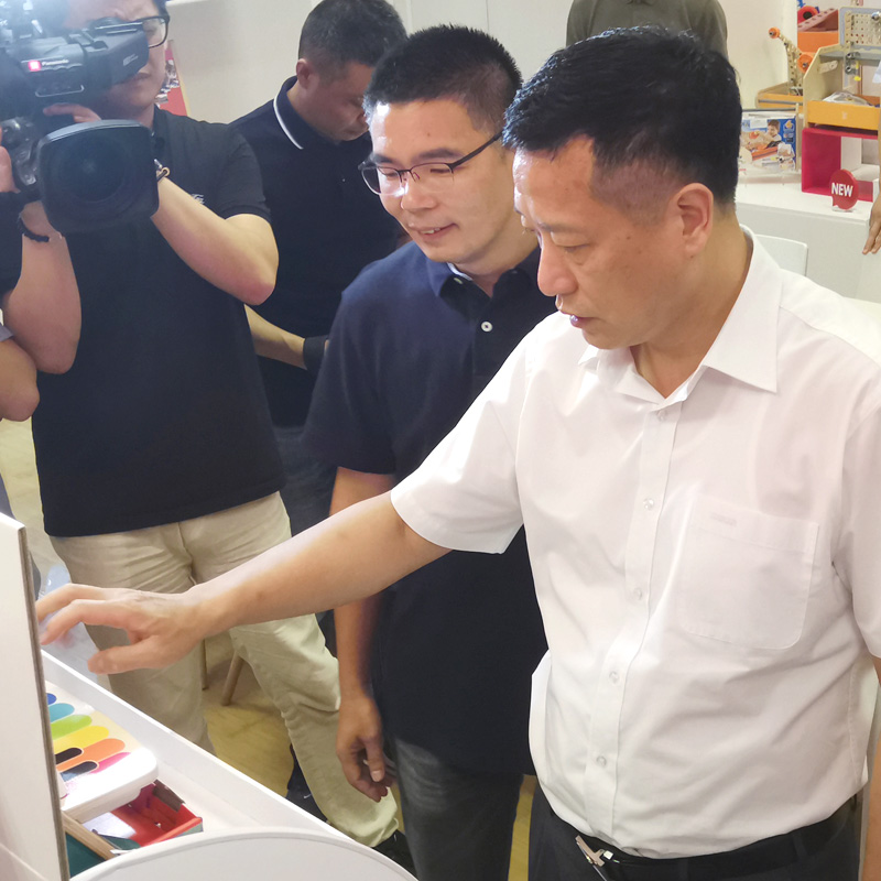 Ningbo Municipal and Beilun District Leaders Make Visit to Hape China