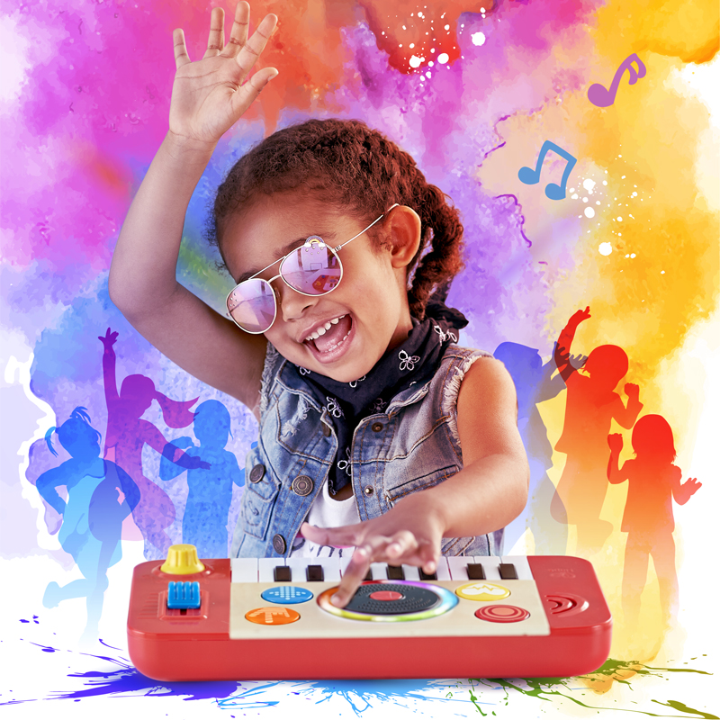 Hape DJ Mix & Spin Studio Honoured at the Tillywig Toy & Media Awards!